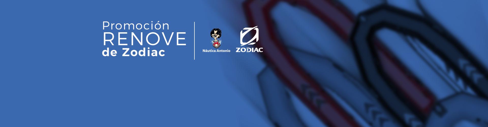 Promoción Renove de Zodiac 2021