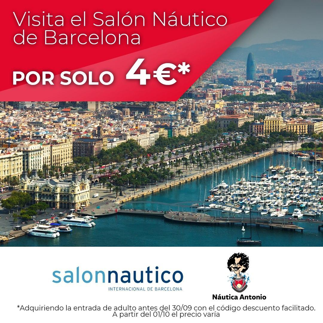 ¡Vente al Salón Naútico por solo 4€*!